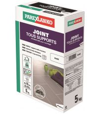 Joint carrelage tous supports blanc 5kg - PAREXLANKO