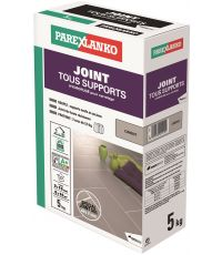 Joint carrelage tous supports ciment 5kg - PAREXLANKO
