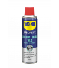 Lubrifiant chaîne vélo toutes conditions - WD-40