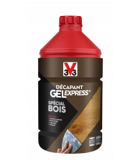 Décapant gel express spécial bois 2L - V33