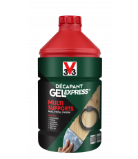 décapant gel express multi-supports 2l - V33