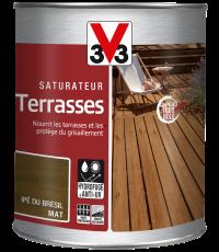 Saturateur pour terrasse coloris Ipé du Brésil 1L - V33
