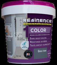 Résine Décorative Multisupport Gris Etain 250 ml - RESINENCE
