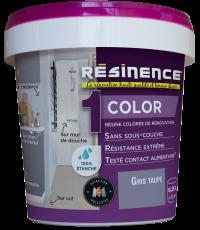 Résine Décorative Multisupport Gris Taupe 250 ml - RESINENCE