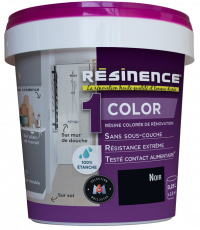 Résine Décorative Multisupport Noir 250 ml - RESINENCE