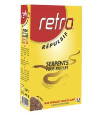 Repulsif serpents granulés 400g - RETRO