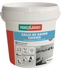 Colle carrelage en pâte salle de bain & cuisine 1kg - PAREXLANKO