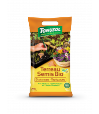 Terreau semi bio bouturage repiquage 20 L - TONUSOL