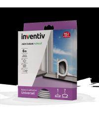 Joint isolant adhésif universel thermoplastique 1-7mm blanc 6m – INVENTIV