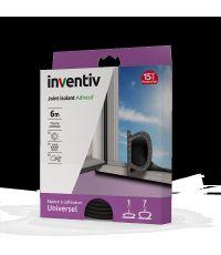 Joint isolant adhésif universel thermoplastique 1-7mm noir 6m - INVENTIV