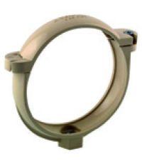 collier de fixation ø100 sable avec vis et écrou - INTERPLAST
