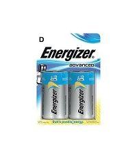 2 piles ECO - D - ENERGIZER
