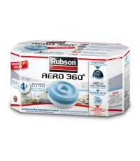 4 Recharges Absorbeur d'Humidité Aero 360° - RUBSON
