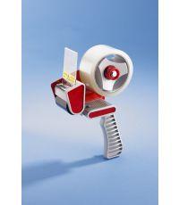 Dérouleur de rouleau adhésif + rouleau 66x50mm marron - MOTTEZ