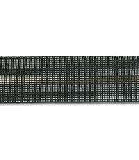 Sangle élastique gris chiné (vendu au mètre) - CHAPUIS