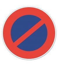 """Disque de signalisation """"stationnement interdit"""" - CHAPUIS"""