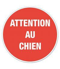 """Disque de signalisation """"attention au chien"""" - CHAPUIS"""