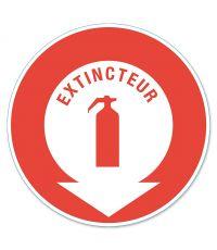 """Disque de signalisation """"extincteur"""" - CHAPUIS"""