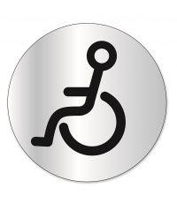"""Disque indicateur """"toilettes handicapé"""" - CHAPUIS"""
