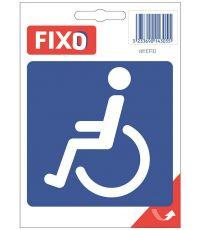 """Panneau autocollant """"toilettes handicapé"""" - CHAPUIS"""