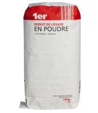 enduit de lissage poudre 15 kg  prix - 1ER