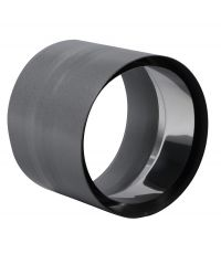 Tuyau anti-bistre émail noir mat ∅125 mm - TEN