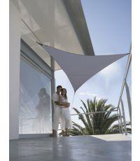 Voile d'ombrage triangulaire serenity 5m - ardoise - JARDILINE