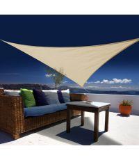 Voile d'ombrage triangulaire austral  3.60m - sable - JARDILINE
