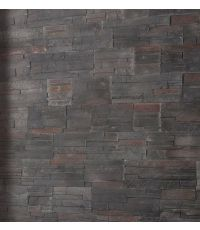 plaquettes de parement brasilia black - MODULO