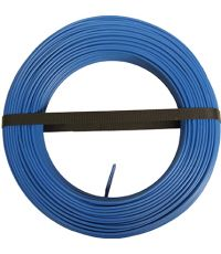 HO7 V-U 1x1.5mm² Bleu 100M (vendu au mètre) - ELECTRALINE