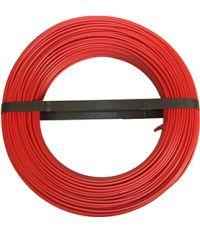 HO7 V-U 1x1.5mm² Rouge 100M (vendu au mètre) - ELECTRALINE