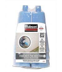 RUBSON Etanchéité par Injection Kit 6 vases + 6 injecteurs
