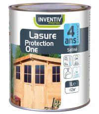 Lasure protection One 4 ans 1L chêne foncé - INVENTIV