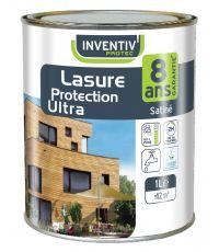 Lasure protection One 8 ans 1L - Chêne foncé - INVENTIV'