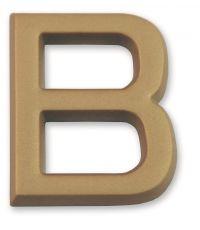 """Lettre dorée adhésive """"b"""" - CHAPUIS"""