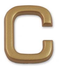 """Lettre dorée adhésive """"c"""" - CHAPUIS"""