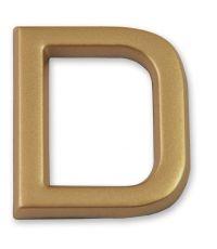 """Lettre dorée adhésive """"d"""" - CHAPUIS"""