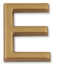 """Lettre dorée adhésive """"e"""" - CHAPUIS"""