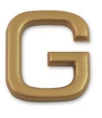 """Lettre dorée adhésive """"g"""" - CHAPUIS"""