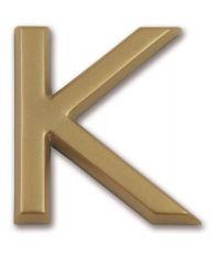 """Lettre dorée adhésive """"k"""" - CHAPUIS"""