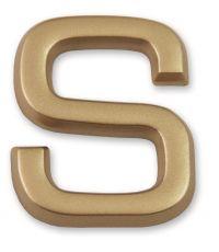 """Lettre dorée adhésive """"s"""" - CHAPUIS"""