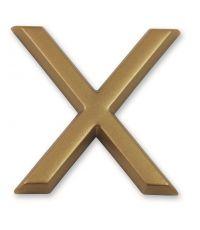 """Lettre dorée adhésive """"x"""" - CHAPUIS"""