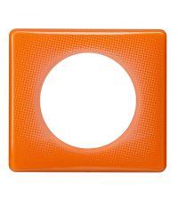 plaque céliane 70s orange 1 poste