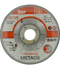 Disque tronçonner les métaux Ø115