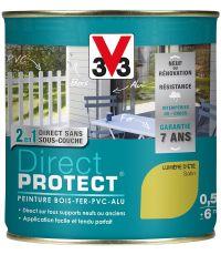 Peinture multi-supports direct protect satin 0.5L lumière d'eté - V33