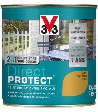peinture multi-supports direct protect satin 0.5 l miel - V33