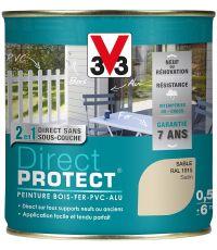 peinture multi-supports direct protect satin 0.5 l sable - V33