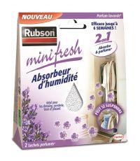 Absorbeur d'humidité Minifresh Lavande - 2x50g - RUBSON