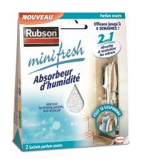 Absorbeur d'humidité Minifresh Neutre - 2x50g - RUBSON