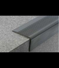 Nez de marche marron PVC L.170 x l.6,5 cm - DINAC
